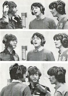 John, Paul and George