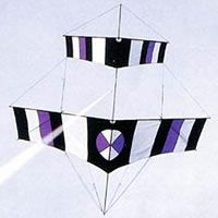 Canard-Roller by Ralf Beutnagel, a plan for 1 line kite hosted at the bowed category of the KPB