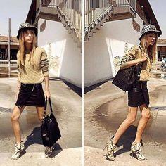Luce fresca y a la moda con estos botines en cuero de pelos, que prometen hacer maravillas por tu look.
