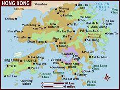 map of hong kong city - Google Search
