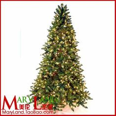Mignon lighting string christmas belt luminous artificial tree 2.3 meters home decorations christmas tree $475.66