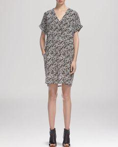 Whistles Dress - Roxanne Eggshell Print
