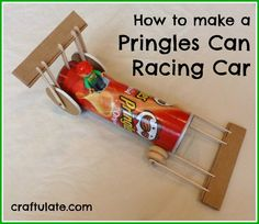 Pringles Can Racing Car - Craftulate (a guest post from my husband!)