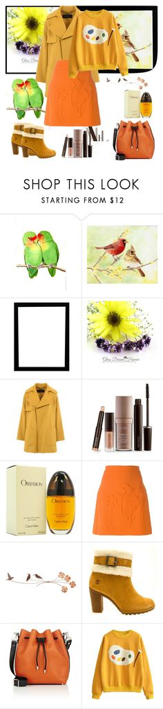 """""""Untitled #1085"""" by misaflowers ❤ liked on Polyvore featuring Barbara Bui, Laura Mercier, Calvin Klein, Victoria Beckham, Timberland and Proenza Schouler"""