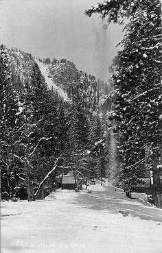 Big Creek Penstock - 1925