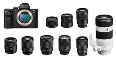 Sony A7, A7R, A7 II, A7Sare world first full frame mirrorless cameras. And they are also best mirrorless cameras until now. There are several great Sony FE lenses designed for Sony A7 series full frame mirrorless cameras.   Since Sony recently announced 4 more FE lenses in March, currently, th