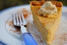 Невыразимая легкость кулинарного бытия...: Американский тыквенный пирог со сливочным сыром