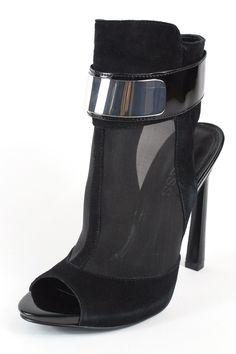 cd1742ecd0dd97 Guess Anavey Black Dress Heels