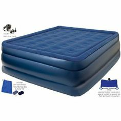 Pure Comfort Raised Air Mattress, Extra Long, Queen: Amazon.ca: Sports & Outdoors