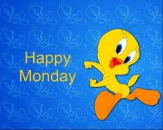 tweey happy monday   Tweety Monday blue Images