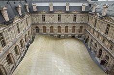 La nouvelle structure du Louvre dédiée aux Arts de l'Islam. © 2012 Musée du Louvre/Antoine Mongodin.