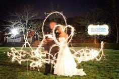 www.kellycronin.com wedding photography sparklers new seabury country club, mashpee