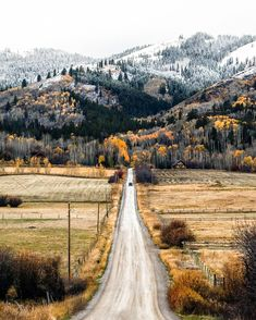 ***Country road in late fall (Idaho) by Chris Pickens (@chriskpickens) cr.c.