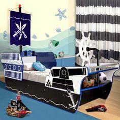 12 υπέροχα ρεαλιστικά πειρατικά πλοία κρεβάτια για το παιδικό υπνοδωμάτιο!