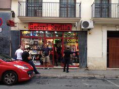 Sevilla record store