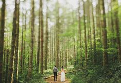 A+Romantic+Elopement+in+the+Woods:+Laura+++Nick LOVE THIS IDEA JUST ADD A FEW FAM AND FRIENDS SMALL SIMPLE (CHEAP)