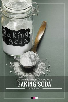 Time to discover the best benefits and reasons to use baking soda for acne!