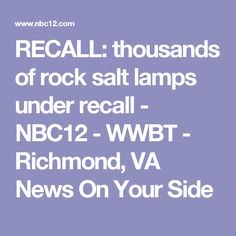 Recalled Salt Lamps Cool Fda Issues Recall On Pacemakers Hackers Could Turn Off Devices Decorating Inspiration