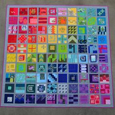 A few months ago I decided to join in the Tula Pink City Sampler quilt sew -along to make #100days100blocks where the idea was to sew a ...