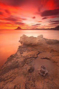 Isla del Fraile . Murcia , Spain.