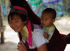 FEMME GIRAFE THAILANDE par Lionel Roussel