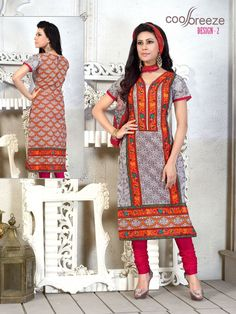 Give yourself an outstanding Dress wearing experience with fabulous Salwar suits! This attractive Multicolor dress is the best choice for every occasion.