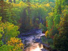 Minnesota - Baptism River - Tettegouche State Park