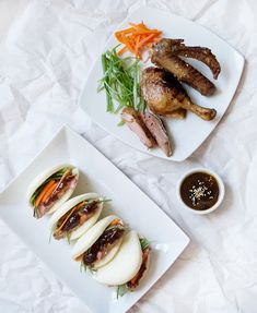 Obtain Chinese Poultry Dish Chinese Roast Duck, Chinese Bun, Braised Duck, Braised Chicken, Roasted Duck Recipes, Bao Buns, Peking Duck, Duck Sauce, Steamed Buns