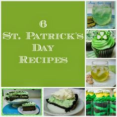 Adorned From Above: 6 St. Patricks Day Recipes