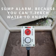 Avoid costly water damage with the simplest, most durable, easy to install high water alarm. http://bit.ly/2LSumpAlarm
