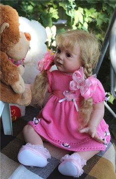 Полинка-2. Куклы-реборн Елены Иваховой / Куклы Реборн Беби - фото, изготовление своими руками. Reborn Baby doll - оцените мастерство / Бэйбики. Куклы фото. Одежда для кукол