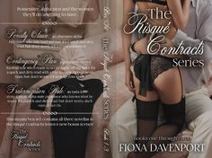 Cover Reveal from Fiona Davenport | The Risque Contracts Series Box Set – NeedEpicReads