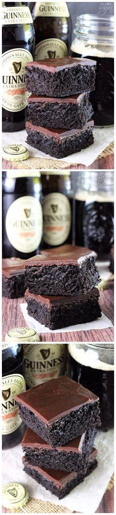 Super Moist Guinness Brownies