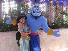 Princess Jasmine & the Genie Disneyland Face Characters, Disney Characters Costumes, Aladdin Musical, Aladdin Movie, Disney Princess Jasmine, Aladdin And Jasmine, Epic Cosplay, Disney Cosplay, Disney Love
