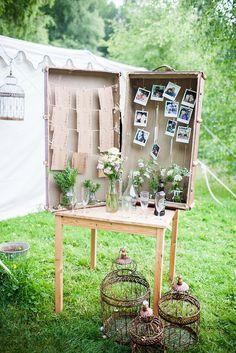 Woodland wedding, eco-friendly wedding, vintage sofas, Sarah Legge Photography