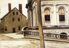 Hopper - Custom House, Portland, 1927
