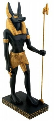 Egyptian Anubis - Collectible Figurine Statue Figure Sculpture Egypt >>> Don't get left behind, see this great product : Home Decor Sculptures Egyptian Anubis, Ancient Egyptian Artifacts, Valley Of The Kings, Collectible Figurines, Before Us, Sculptures, Collection, Ebay, Tatoo