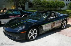 2008 Corvette Indy Pace Car. 3/4 front left side view. Historic Downtown DeLand, FL Cruise-In. June 16, 2012. Photo by Luis » The Motor Bookstore, www.themotorbookstore.com