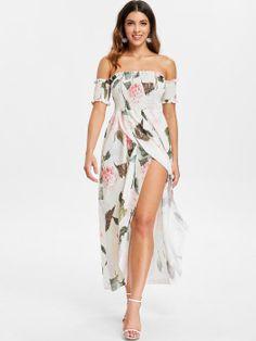 Women Mini Dress Fashion Off Shoulder Printing Short Sleeve Buttock Flroal Printed Beach Holiday Elegant Ladies Dress Vestido Reliable Performance Women's Clothing