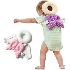YLMTOP Toddler Headrest Pillow Baby Head Protection Cushion Pink YBB003-Pink. ★ WALKING ASSISTANT : Wirh ring design, can protect baby neck and head when them learning to walk,running and crawling. ★ COTTON MATERIAL : The material of the pillow is cotton, which can cushion when baby fall. ★ SOFT and BREATHABLE : Baby close skin fabrics, close-fitting use more comfortable and soft. ★ LIGHTWEIGHT and CUTE : weight 130g,very light and not any presure for baby's shoulder,Backpiece protector…