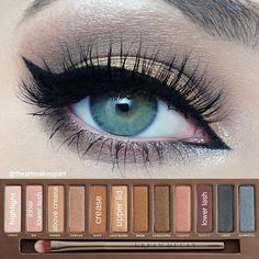 naked palette tutorial by @iheartmakeupart