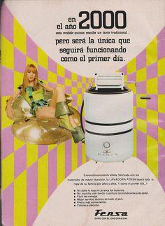 Lavadoras FENSA Publicidad