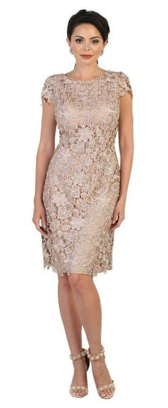 Short Mother of the Bride Dress Plus Size Formal Evening Party