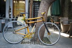 a bamboo bike - like it