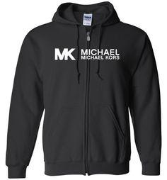awesome Michael Kors Logo Unisex zip hoodie