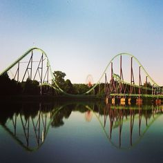 #17 - Walibi Holland (Six Flags Holland) is a theme park in Biddinghuizen that features various attractions for the entire family. Among its most notable attractions are its exhilarating roller coasters: Speed of Sound, Xpress, Goliath, Robin Hood, and El Condor.