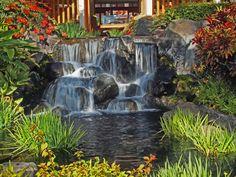 Hotel waterfall | Flickr - Photo Sharing!
