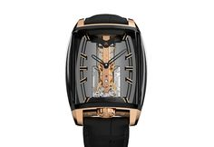 Corum - 10th Anniversary Golden Bridge Automatic | Time and Watches | The watch blog Titanium Watches, Watch Blog, Dress Watches, Golden Anniversary, Gold Models, Elegant Watches, Bridge, Two By Two, Diamond