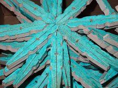 Flocons de bois Frozen