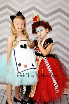 Alice in wonderland tutu dress- Alice in wonderland costume- Alice in wonderland…